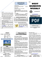 WHAC Newsletter for 11.10.30