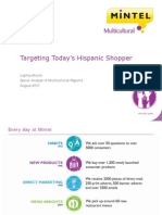 Targeting Today's Hispanic Shopper