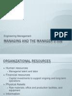 01 Managing and the managerGÇÖs job