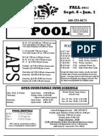Pool Fall 2011