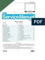 Aoc 712sa+Service+Manual