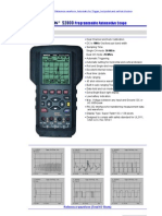 Osciloscopio Seintek S2800