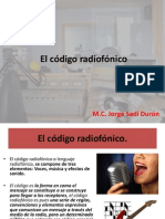 El código radiofónico