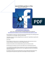 facebook stinks and here is why