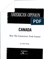 Canada - ow the Communists Took Control READ FIRST