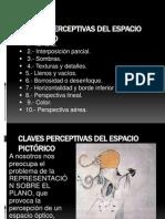 CLAVES PERCEPTIVAS DEL ESPACIO PICTÓRICO
