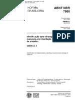 ABNT NBR 7500-2003 Simbolos de Risco e Manuseio Para o Transporte e to de Materiais