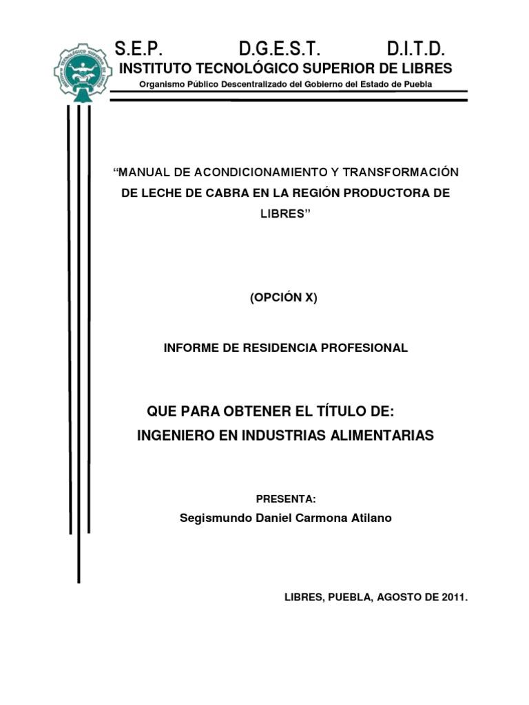4. Manual de acondicionamiento y transformación de leche de cabra en ...