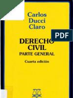 Ducci Claro, Carlos - Derecho Civil - Parte General