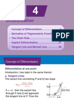 Chapter4 Differentiation
