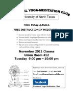 Yoga Poster Unt