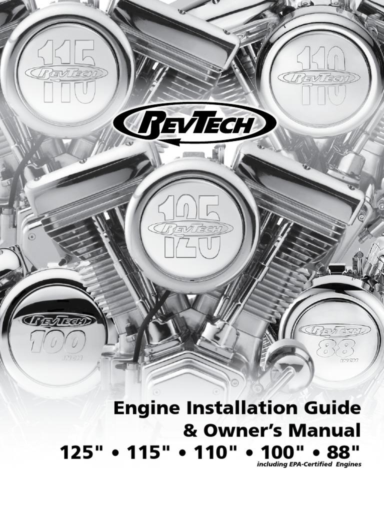 revtech engine installation guide 2