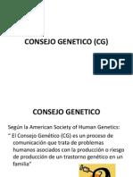 CONSEJO GENETICO (CG)