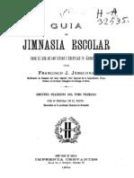 Guía de jimnasia escolar para el uso de los liceos i escuelas de ambos sexos................... (1894)