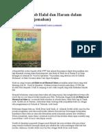 Diskusi Kitab Halal Dan Haram Dalam Islam