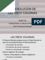 LA REVOLUCION DE LAS TRECE COLONIAS