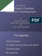 Ind Dev Plan 2007 15 JICA Ind