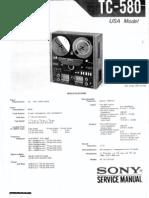 SONY TC-580