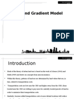 Rent and Gradient Model