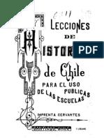 Lecciones de Historia de Chile para el uso de las escuelas públicas. (1887)