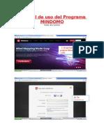 Tutorial de Uso Del Programa MINDOMO