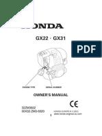 1274 Honda Engine