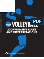Volleyball Rules 09