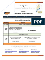 Abu Dhabi Chapter Event 1