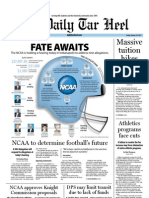 The Daily Tar Heel for October 28, 2011