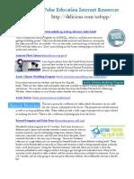 Polar Education Internet Resources