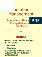 Operations Management C2 Operations Strategy
