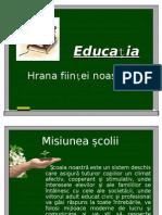 Educația