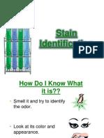 Stain Identification