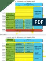 Das stART11 Programm (Stand 27.10.2011