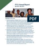 DDD FY11 Annual Report New