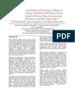 Fractional CO2 Laser Treatment For Stretchmarks