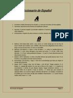 Trabajo Diccionario Francisco Ponce Español II BTC