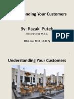 Understanding Your Customer - Revised