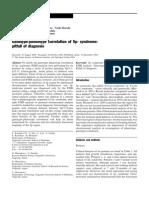 Genotipo Fenotipo Deleccion 5p