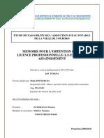 Mémoire de fin d'étude (L3EA)
