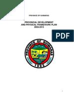 Guimaras Provincial Development and Physical Framework Plan 2008-2013