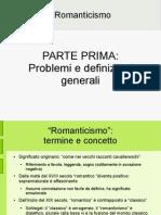 Il Romanticismo - Marcello Pagnini