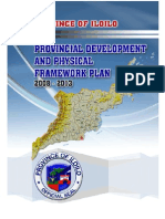 Iloilo Provincial Development and Physical Framework Plan 2008-2013