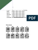 Guitar Teaching Material