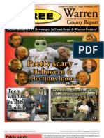The Early November, 2011 edition of Warren County Report
