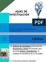 ENFOQUES DE INVESTIGACIÓN