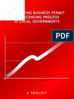 Simplifying Business Permit and Licensing Process of Local Governments