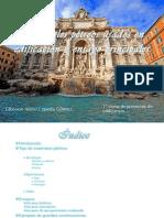 Mariales pétreos usados en edificación y ensayo principales (Gibsson C.G.)