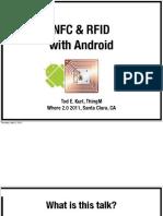 Nfc Rfid on Android Todekurt Where20