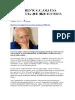 El Movimiento Calama Una Experiencia Que Hizo Historia en Chile